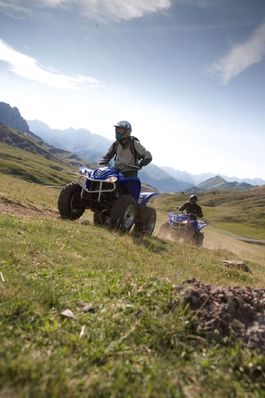 Quads in the Pyrenees